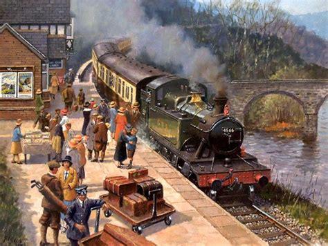 artist robert nixon railway scenes