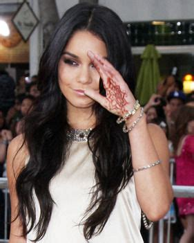 vanessa hudgens tattoos hudgens shows henna daily