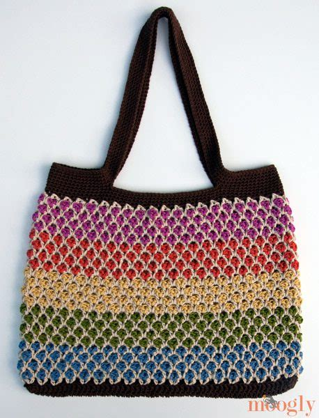 crochet patterns for bags and totes 10 beautiful crochet purses and bags