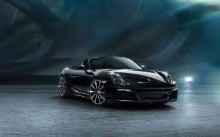 2015 porsche boxster black edition wallpaper hd car