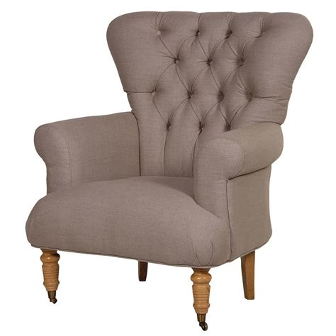 Chatsworth Armchair by Chatsworth Linen Armchair Style Upholstered