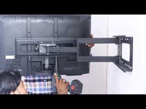 tono flat screen tv wall mount swivel installation youtube