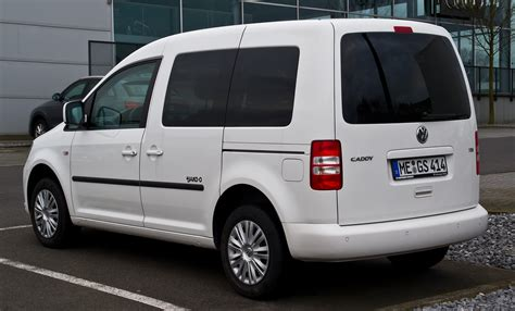 volkswagen caddy 2014 file vw caddy 1 6 tdi jako o 2k facelift heckansicht