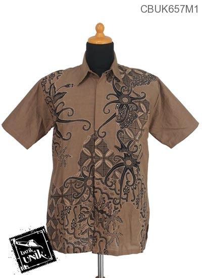 Kemeja Batik Motif Bakung baju batik kemeja motif gurita kawung kemeja lengan pendek murah batikunik