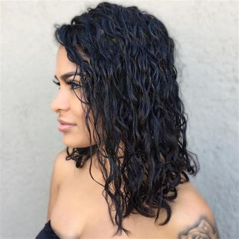 names of curl perms for medium length black hair 50 gorgeous perms looks say hello to your future curls