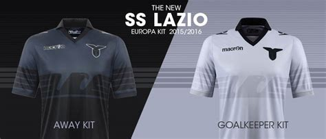 Jersey Lazio Phantom Black 15 16 lazio 15 16 europa kit released footy headlines