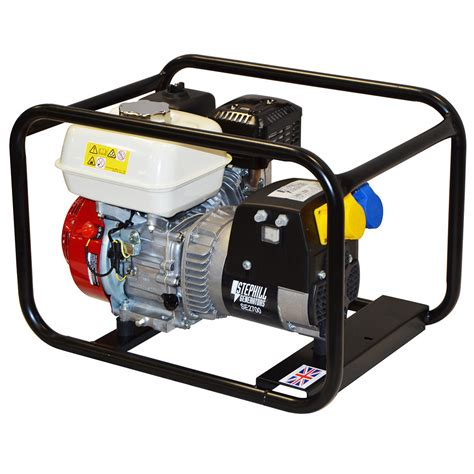 Small Home Generators Uk 2 7 Kva Honda Gx160 Petrol Generator Se2700