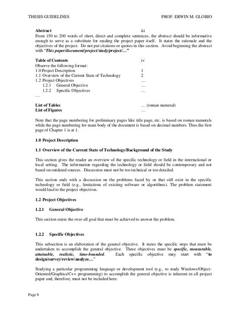thesis abstract for website thesis abstract sle for information technology