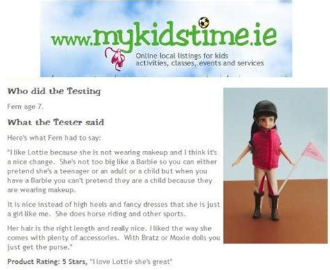 where to buy lottie dolls in ireland pony flag race lottie doll review by mykidstime ie