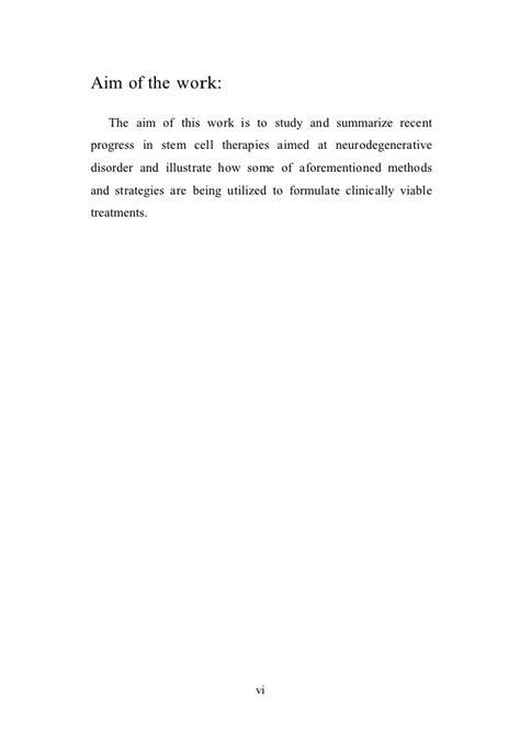 neurology section thesis section restorative neurology