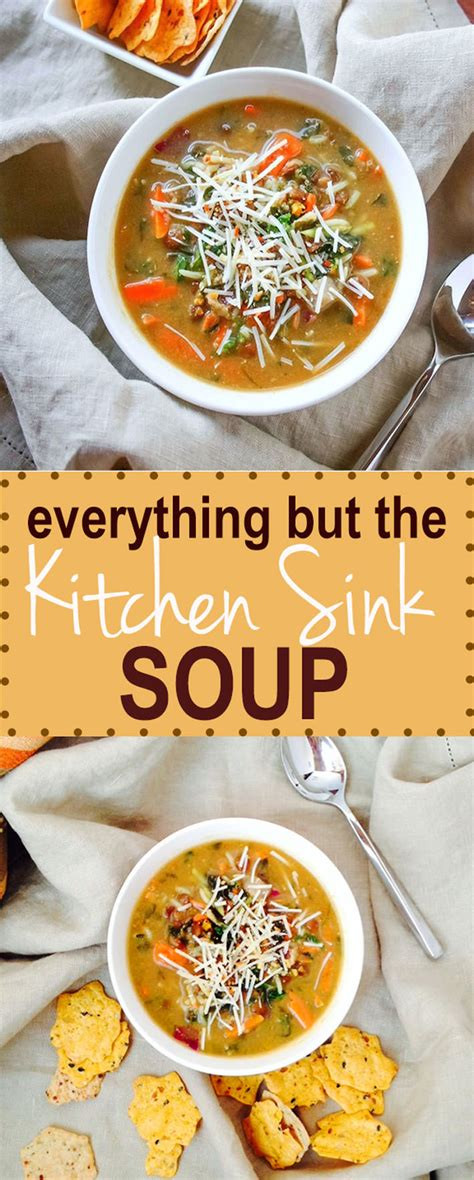 everything but the kitchen sink soup gluten free