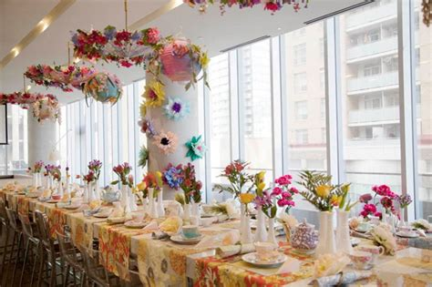 ideas for afternoon tea bridal shower beautiful floral high tea bridal shower