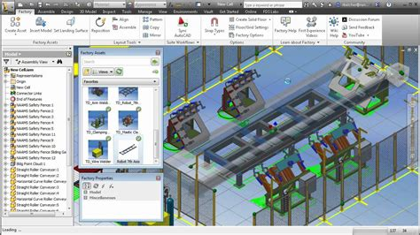 factory layout design autocad autodesk factory design suite 2013 demonstration youtube