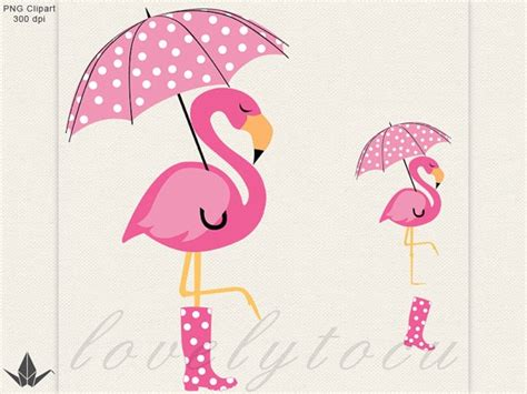 Palm Tree Patio Umbrella Flamingo Umbrella Clipart Pink Flamingo In The Rain