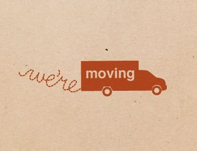 We Re Moving Card Graphic Design Pinterest We Moved Email Template