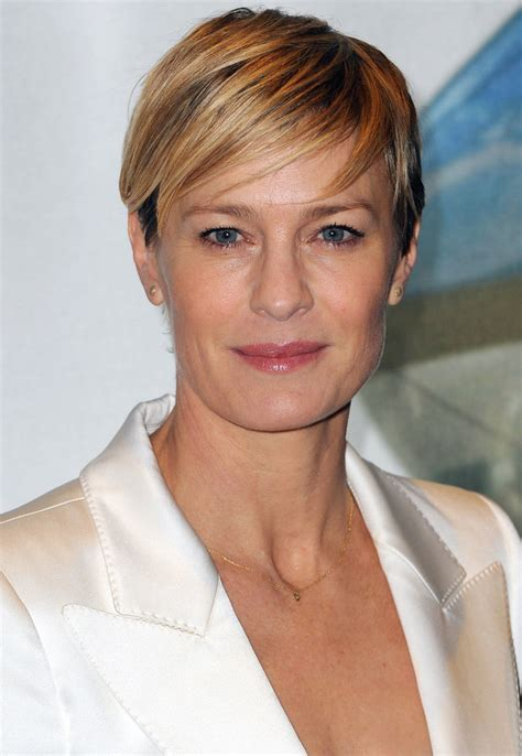 robin wright just before she cut her hair robin wright turns 50 instyle com