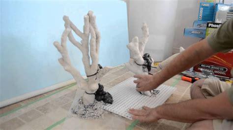 Live Rock Aquascape Aquascaping The Tonga Sculpture Aquascape Part 6 Youtube