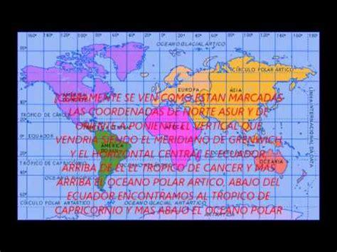 imagenes satelitales con coordenadas planisferio y sus coordenadas youtube