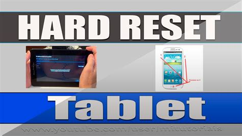 youtube reset android como fazer hard reset no tablet android mitutoriais