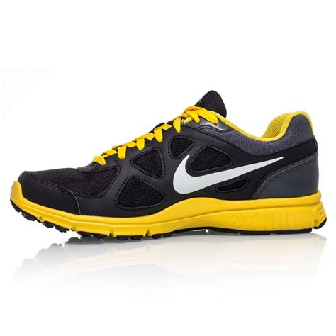 Ardiles Malovic Black Yellow Running Shoes nike revolution msl mens running shoes black yellow sportitude