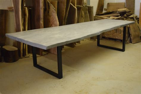 dining tables grey live edge dining table grey dining table