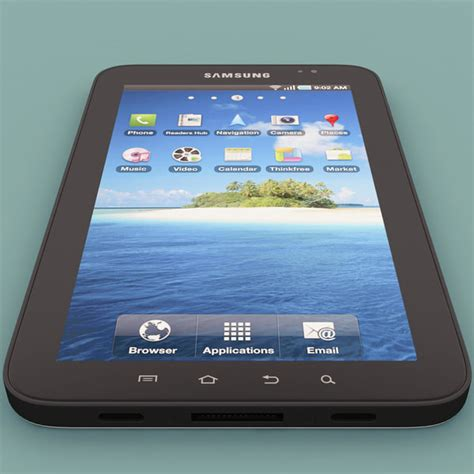 Samsung Tab 1 P1000 samsung galaxy tab p1000 3ds