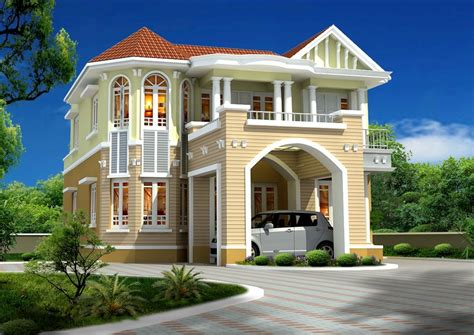 Beautiful Home Exterior Design Realestate Green Designs House Designs Gallery Modern