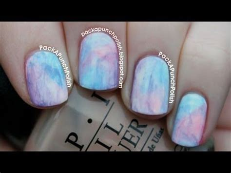 watercolor nails tutorial 1000 images about marble saran swirl nail designs on