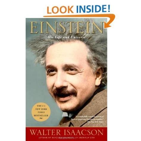 albert einstein biography walter isaacson amazon com einstein his life and universe 9780743264747