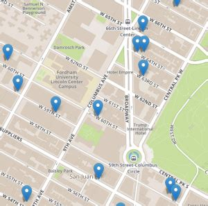 No Fee Search The Nyc No Fee Apartments Map