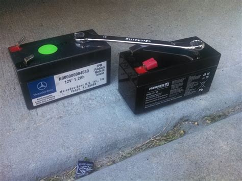 mercedes auxiliary battery auxiliary battery mbworld org forums