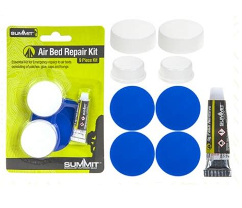 How To Fix A Punctured Air Mattress by Summit 9 Cing Air Bed Puncture Repair Kit 4