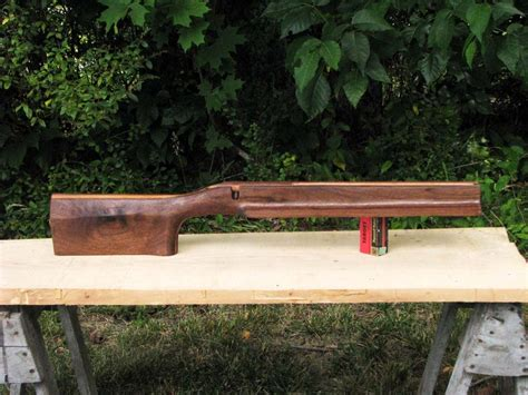 bench rest stock 22 rimfire benchrest stock carved from american black
