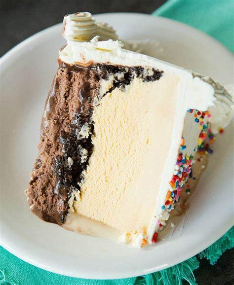 icecream cake copycat dairy cake brown eyed baker