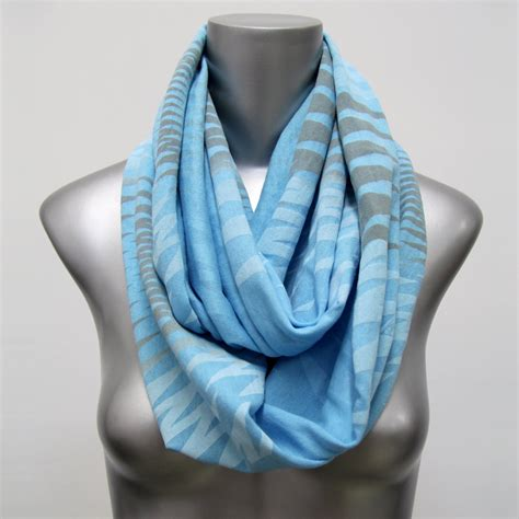 light blue scarf for scarf light blue circle scarf neck loop