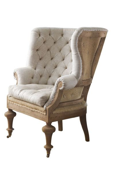 Fontaine Wingback Chair by Design By Nancy Robinson March Columns Laduenews