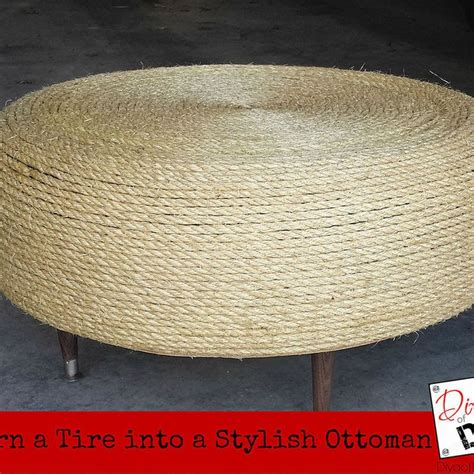upcycle ottoman upcycle project old tires ottomans and upcycle