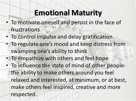 emotional intelligence create the person you want to be build confidence and develop your emotions books quotes about emotional maturity quotesgram