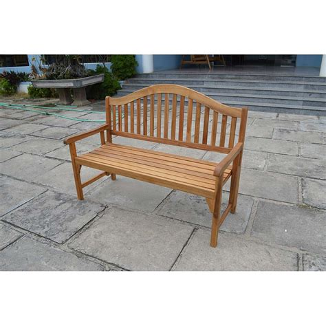 wooden folding bench patio wise classic wooden folding bench 3 seater acacia