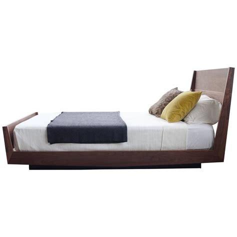 Floating Bed Frame For Sale Ab5 Size Contemporary Walnut Floating Platform Bed For Sale At 1stdibs