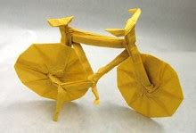 How To Make An Origami Bike - bicycle origami bicycle bike review