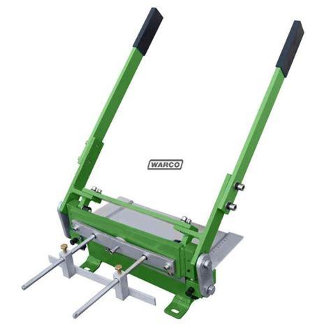 bench guillotine cut sheet metal shear machine