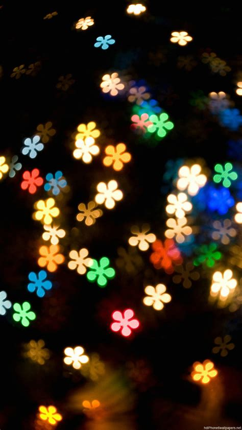 wallpaper hd iphone 6 christmas light flowers color iphone 6 wallpapers hd and 1080p 6