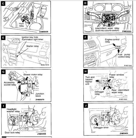 mitsubishi triton wiring diagram buick rainier wiring