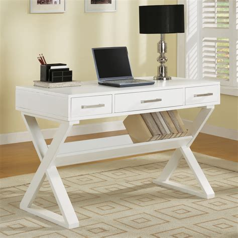 home office desks canada shop coaster furniture white writing desk at lowes