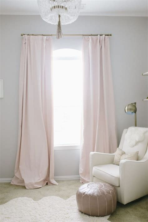 light pink curtains for nursery 17 best ideas about light pink bedrooms on