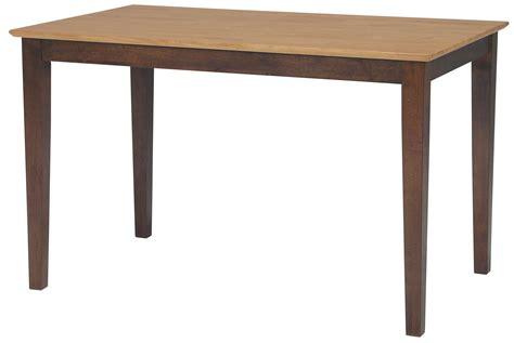 Contemporary Rectangular Dining Table Dining Essentials Contemporary Rectangular Dining Table Wayside Furniture Dining