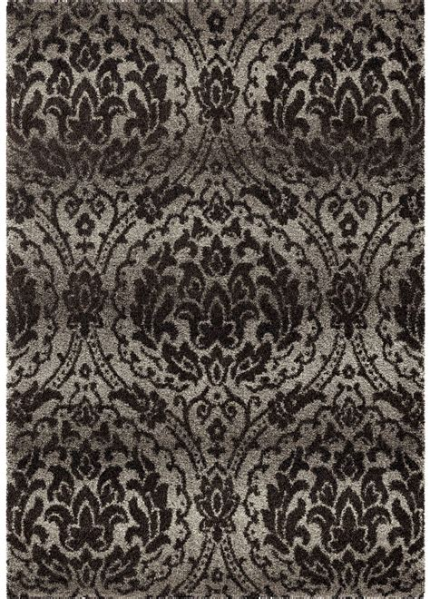 gray damask area rug orian rugs plush pile damask norfolk gray area large rug 4300 8x11 orian rugs
