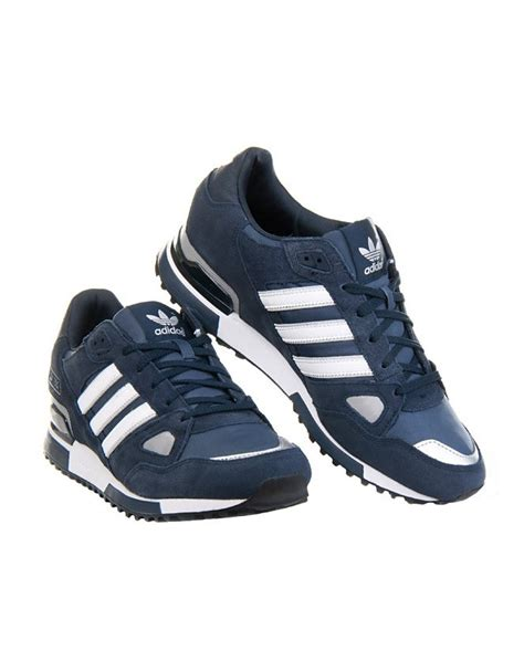 Adidas Zx 750 Blue White adidas originals zx 750 mens running trainers navy blue