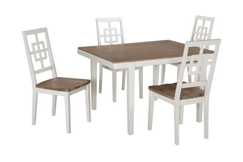 Dining Table 4 Chairs And Bench Brovada Dining Table 4 Chairs By At Gardner White